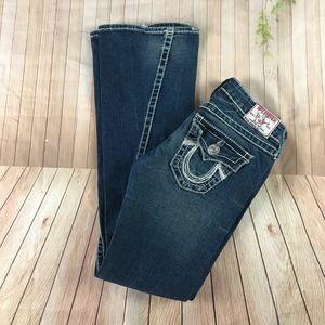 True Religion Women's Rainbow Joey Flare Jeans